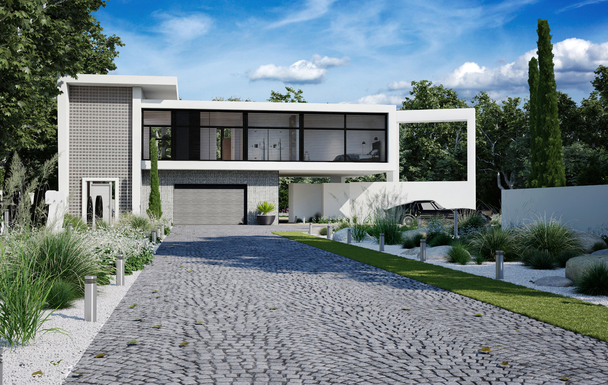 Villa Ludwig rendu 4