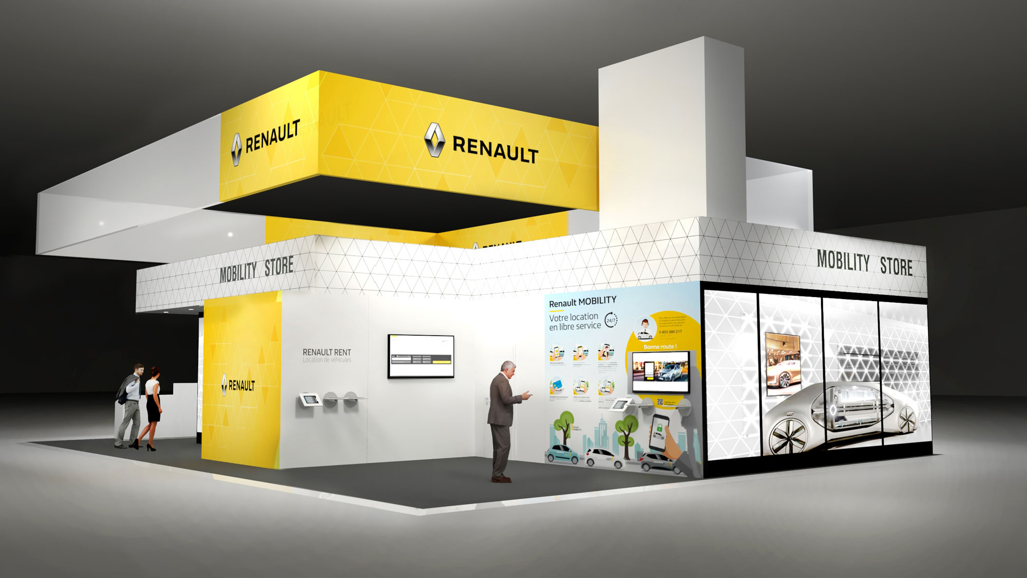 Event Renault Mobility Stand